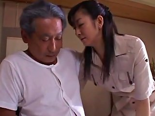 TXxx Video - Japanese Wife Widow Takes Care Of Father In Law 2