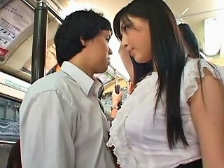 AnyPorn Video - Cute Babe Saori Hara Gets Fucked On A Bus