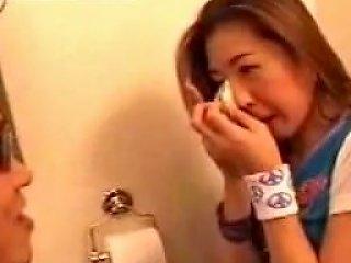 Tube8 Video - Korean Babe Bathroom Banged