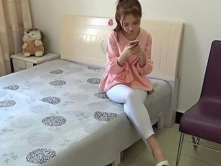PornHub Video - Loveforever Chinese Pink Blouse Rope Bondage With Heels