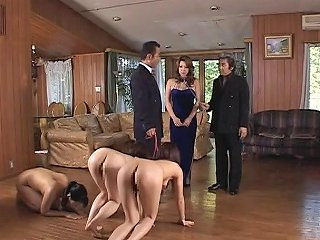 BravoTube Video - Submissive Japanese Slave Milfs Used Outdoors And Fucked Hard
