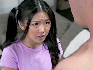 XHamster Video - Asian 18yo Lulu Chu Gives Head Before Fucking Hard