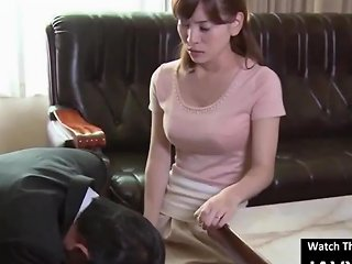SpankWire Video - Beautiful Asian Milf Fucked By Pervert Boss