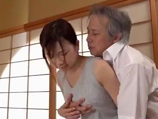 SpankWire Video - Cute Asian Housewife's Pussy Fucked By Father In Law P3