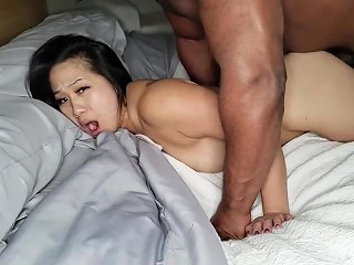 XHamster Video - Asian Slut Blacked And Creampied